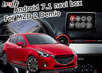 Mazda 2 Demio Android 7.1 Car Navigation Box video interface optional carplay android auto