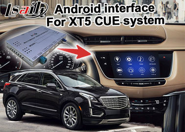 China GPS Android navigation box video interface for Cadillac XT5 video supplier