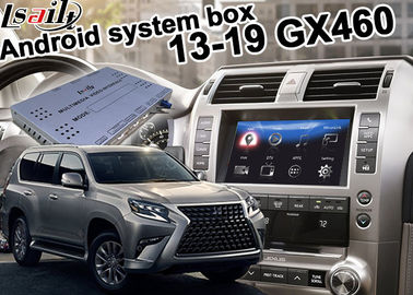 China Android Navigation Interface Box For Lexus GX460 2013-2019 pin to pin install carplay optional supplier