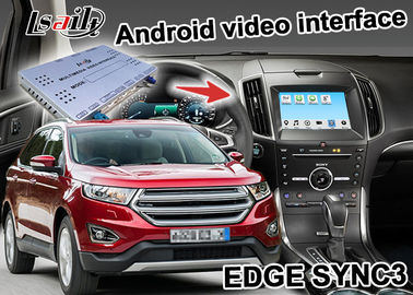 China Ford EDGE SYNC 3 Android Box Gps WIFI BT Map Google apps video interface wireless carplay supplier