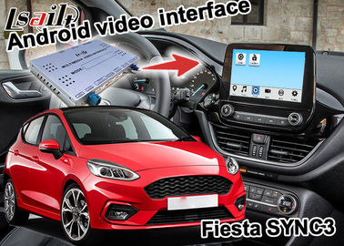 China Android navigation box For Ford Fiesta ecosport sync3 with wireless carplay android auto supplier