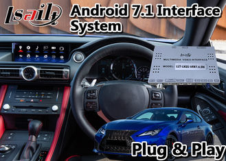China Car GPS Navigation Video Interface Android Lexus RC300 Plug And Play Installation supplier