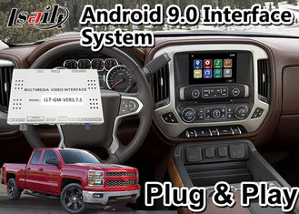 China Android 9.0 Video Interface For Chevrolet Silverado Mylink System 2014-2019 Model GPS Navigation Youtube supplier