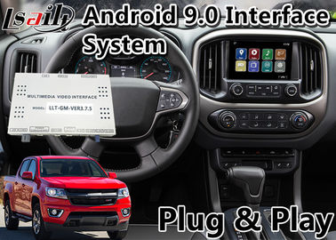 China Android 9.0 Multimedia Video Interface for Chevrolet Colorado / Impala MyLink System 2015-2020, GPS Navigation supplier