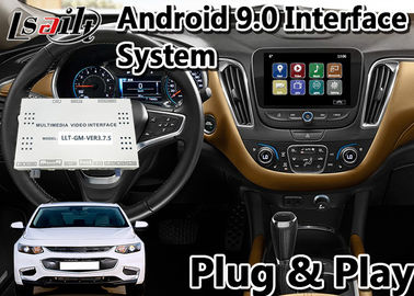 Android 9.0 Video Interface for Chevrolet Malibu / Equinox My Link System 2015-2019 Waze Mirror link , GPS Navigation
