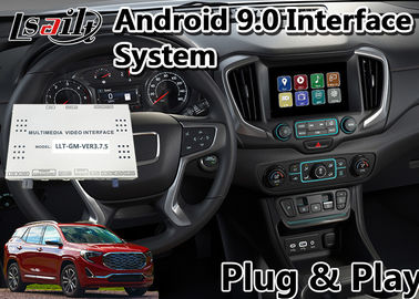 China Lsailt 9.0 GPS Navigation System Android Car Interface For GMC Terrain 2014-2019 Mirrorlink supplier