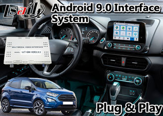China 2GB / 3GB Multimedia Video Interface Android 9.0 Navigation Box For Ecosport Sync3 T7 Hexa Core supplier