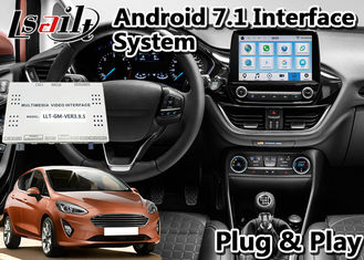China Lsailt Android 9.0 Navigation Video Interface T7 Hexa Core Processor For Ford Fiesta Sync3 supplier
