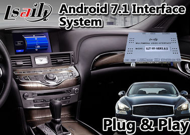 China Wireless Carplay Adas GPS Navigation Lsailt Android 9.0 For Infiniti Q70 2014-2020 supplier