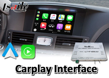 China Wired Android Auto Mirrorlink Wireless Carplay For Infiniti M37 M35 M25 2009-2013 supplier