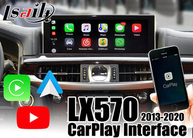 Carplay/ Android Auto Interface for Lexus LX570 2013-2020 support youtube , remote control by OEM mouse controller