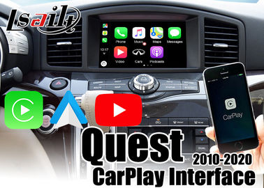 YouTube Waze Google Map Android Auto Carplay Interface For Nissan 2012-2018 Quest