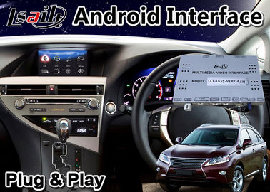 Lsailt Android 9.0 Video Interface for 2012-2015 Lexus RX 270 Mouse Control , GPS Navigation RX270