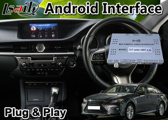 Android 9.0 Car Multimedia Video Interface For 2014-2020 Leuxs Es 250 Knob Control ES250