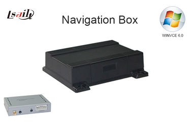 China Windows CE 6.0 GPS Navigation Box for JVC Car Unit Auto Navigation System 800*480 / 480*234 supplier