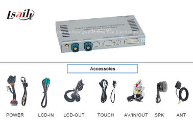 China Aotumotive Audi Multimedia Interface Box with Touch Navigation , Audio 256MB WINCE 6.0 supplier
