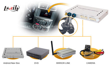 China Car Auto Audio Video Multimedia Video Interface GPS Navigation Box 1.2GHZ Android4.2 supplier