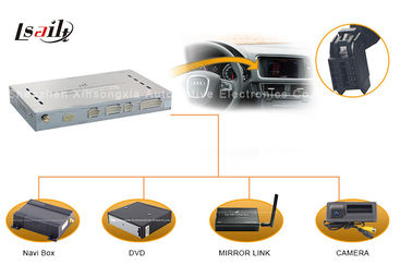 China Automotive Navigation System Audi Multimedia Interface with External TV and Mirrorlink supplier
