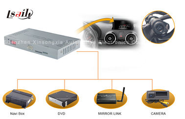 China Audi Multimedia Interface with Android / Windows CE Navi , Rearview Camera , Mirrorlink supplier