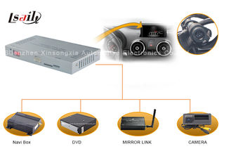China Mirrorlink NISSAN Multimedia Interface Android / Windows CE Navi Rearview Camera supplier