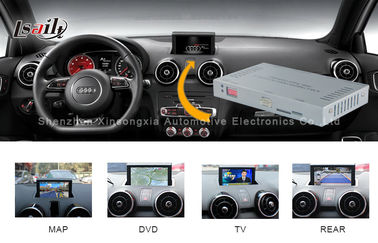 China 2012 - 2016 Audi A1 Q3 Media Interface 256MB RAM With Touch Navigation / DVD supplier