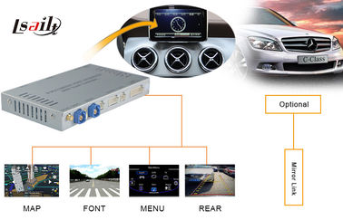 China 2014 Mercedes Benz  Navigation System with Reversing Trajectory , Front view , TMPS supplier