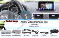 China Mazda Car GPS Navigation System Support Live Navigation / Voice Navigaiton factory