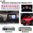 China 2016 Mazda Navigation Video Interface CX -3 TV DVD REAR DVR factory