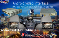 China 800X480 Car Multimedia Navigation System for Benz A/B/C/E , Android Auto Interface factory