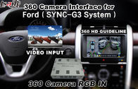 China Ford Bluetooth Reversing Camera Interface For 360 Degree Camera , Android Navigation factory