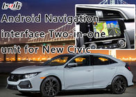 China Android Auto Interface Navigation System All-in-one Unit for 2016 - 2017 Civic factory
