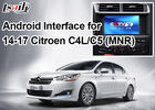 China Android Navigation Video Interface for Citroen , Google Market / Google Map / WiFi / 3G​ factory