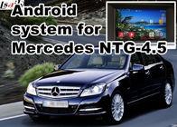 Mercedes benz C class GPS Auto Navigation Systems mirror link 480*800 Android 6.0 7.1