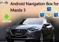 China 2014-2017 Mazda 3 Android 6.0 Video Interface support Rearview System, GPS Navigation factory