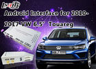 China Android 6.0 6.5' VW Touareg Android Auto Interface Touch Android Navigation System factory