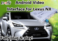 Android 6.0 Lexus NX Video Interface with GPS Navigation Mirrorlink BT WIFI