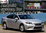 Lexus ES RX NX IS Car GPS Navigation System with rear view touch screen TV video cast screen Android 5.1