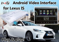 IS 2012-2017 Lexus Video Interface with GPS Navi Box Mirrorlink Android 6.0