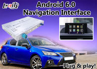 Android 6.0 GPS Navigation Box Lexus Video Interface for CT 2012-2017 , high speed