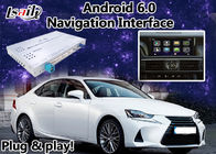 China Android 6.0 Lexus IS car Video Interface suit for 2012-2017 Mouse Version Built in GPS Navigaiton factory