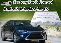 China Lexus ES Video Camera Interface Control by Factory  Knob , 4- Core A9 Processor factory