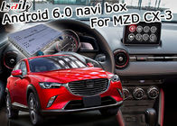 Mazda CX-3 Navigation video interface Android 6.0 Mazda knob control google waze youtube