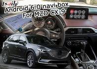 Android 6.0 navigation video interface box for Mazda CX-9 12V DC power supply