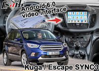 China Android 6.0 Navigation Box Video Interface For Ford Kuga Escape SYNC 3 With WIFI BT MirrorLink Map Google Service factory