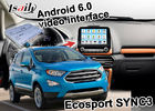 China  Ecosport SYNC 3 Vehicle Navigation System video interface based on Android factory