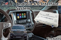 Android 6.0 Multimedia Video Interface for GMC Sierra 2014-2018 Waze Mirrorlink Google