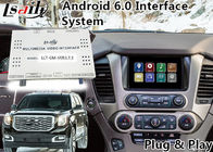China GMC Yukon Denal Android Navigation Box for 2014-2018 year with Online map(Google/waze) factory