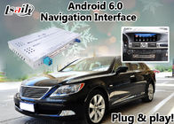 Android 6.0 Gps Navigation Interface Box for Lexus LS 2013-2017 mouse Control Original Screen Upgrade LS460 LS600h