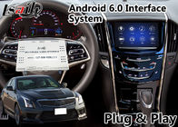 China Android 6.0 Navigation Interface for Cadillac ATS / XTS with CUE System 2014-2018 Waze WIFI Google Play Store factory