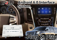 Android 6.0 Car GPS Navigation Auto Interface for Cadillac Escalade with CUE System 2014-2018 LVDS Digital Display